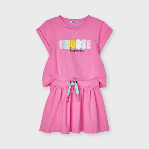 Choose Happiness Shirt Dress