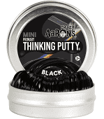 Mini Black Thinking Putty