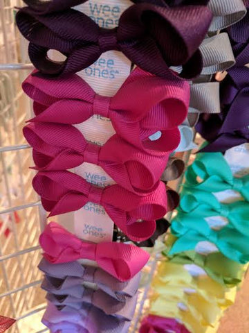 Tiny Bows Assorted Colors