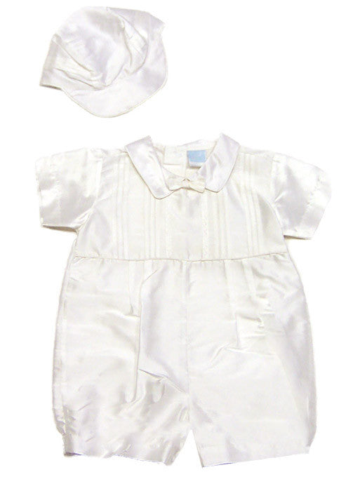 Silk Christening Type Romper