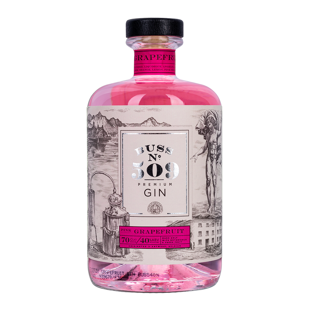 Load image into Gallery viewer, BUSS N° 509 - PINK GRAPEFRUIT GIN
