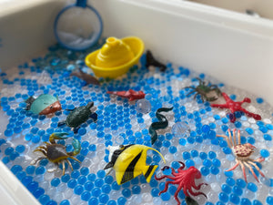 Under The Ocean Sensory Play Bin
