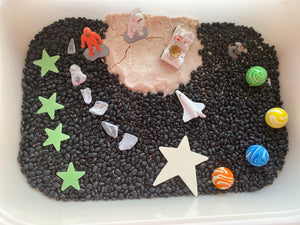 Out of this world Sensory Play Bin