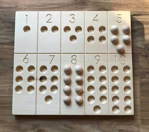 Number Learning Board