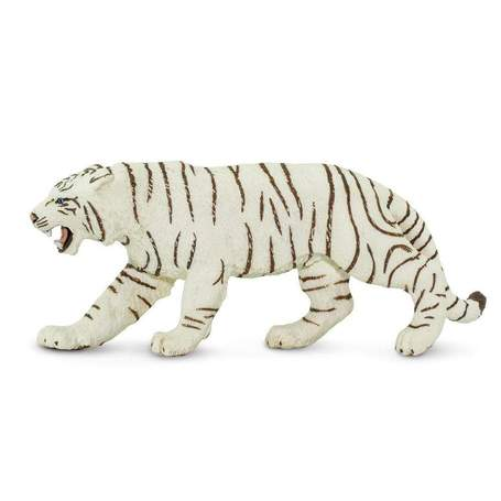 White Bengal Tiger Figurine