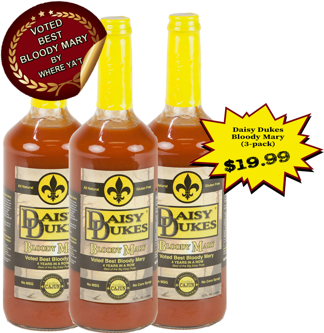 Daisy Dukes® Bloody Mary Mix Pack of 3