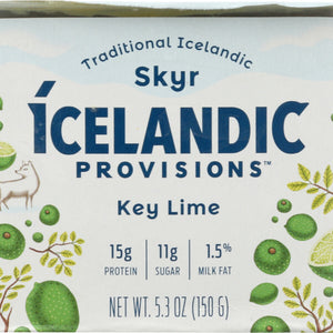 ICELANDIC PROVISIONS: Yogurt Key Lime Skyr, 5.3 oz