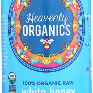 HEAVENLY ORGANICS: White Honey, 22 oz