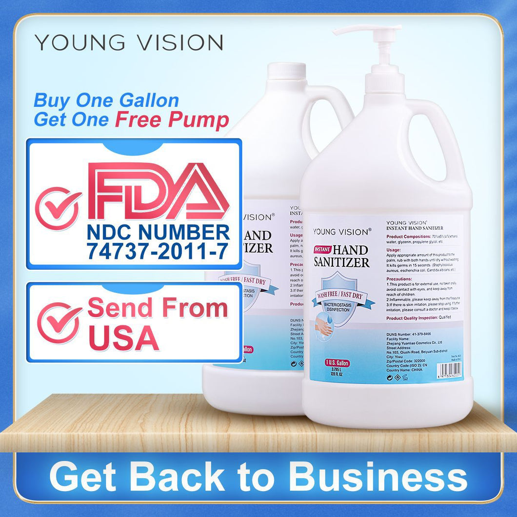 YOUNG VISION 1gallon Disinfection Hand Gel