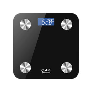 Touch 440 lbs Total Body Bath Scale -Bluetooth smart scale