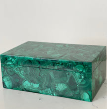 Load image into Gallery viewer, luxury malachite jewelry box