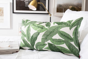 Banana Leaf- Square and Lumbar Throw Pillows