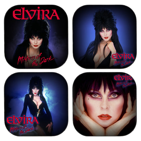 Elvira 80'S Square Coaster Set