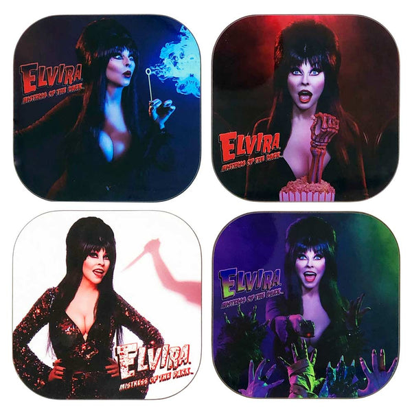 Elvira Pop Square Coaster Set