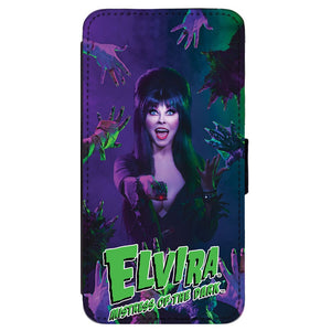 Elvira Monster Remote Iphone Flip wallet Case