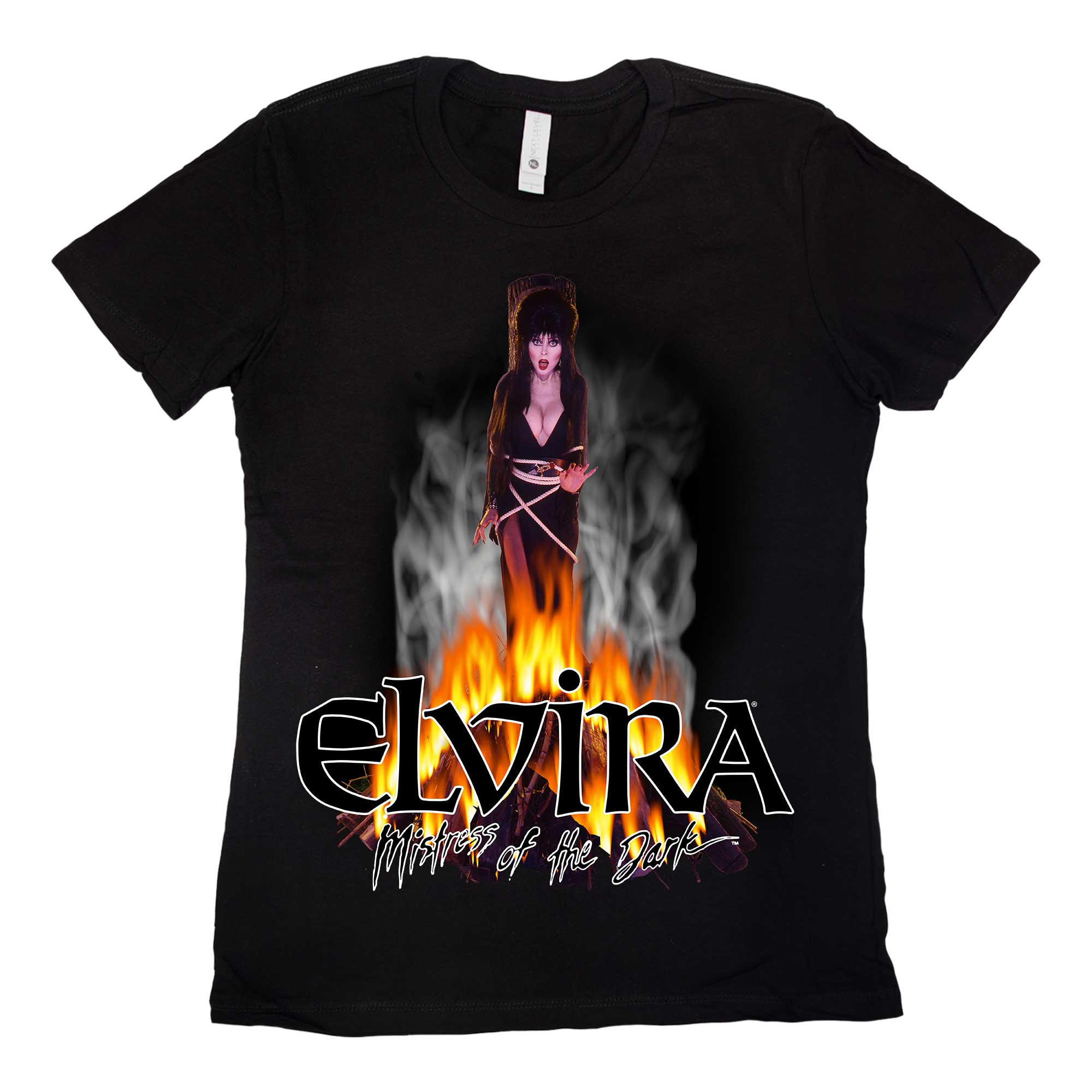 Elvira On The Stake Womens Tee