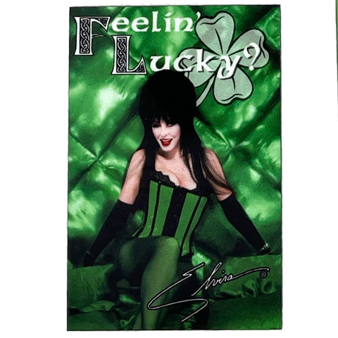 Elvira Feeling Lucky Magnet