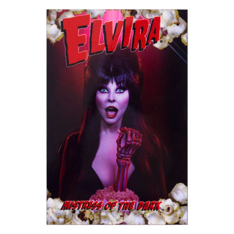 Elvira Pop Popcorn Magnet