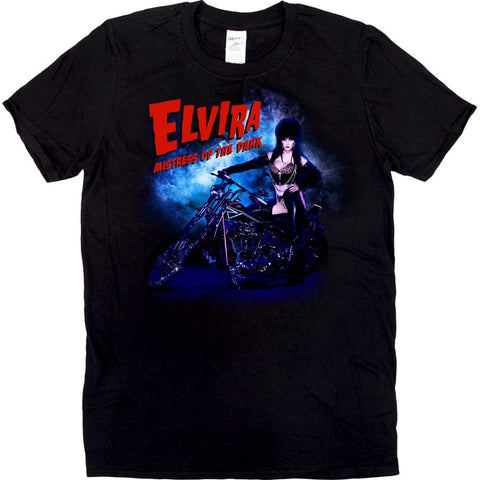Elvira Motorcycle Mist Mens Tshirt