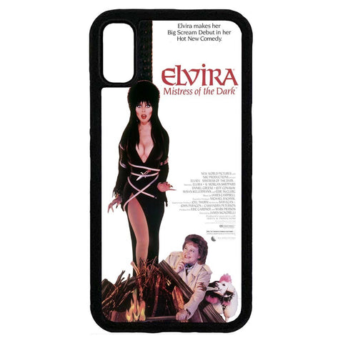 Elvira MOTD Movie Iphone Black Rubber Case