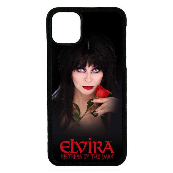 Elvira Rose Iphone Black Rubber Case