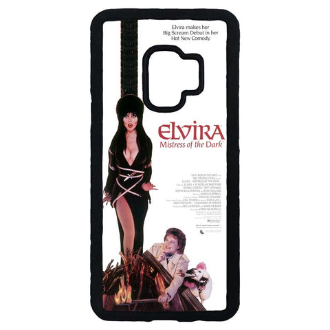 Elvira MOTD Movie Samsung Black Rubber Phone Case