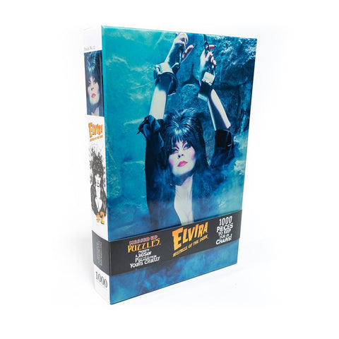 Elvira In Chains Jigsaw Puzzle