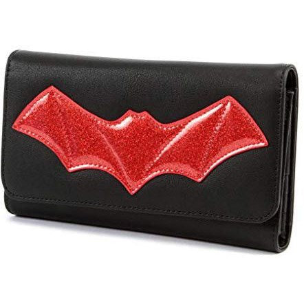 Elvira Lux Deville Red Bat Wallet
