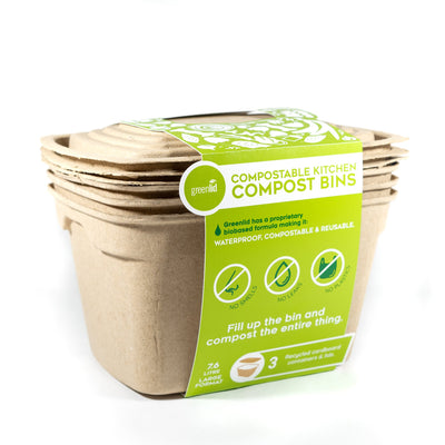Greenlid 7.2L with Compostable Lid 20 Pack