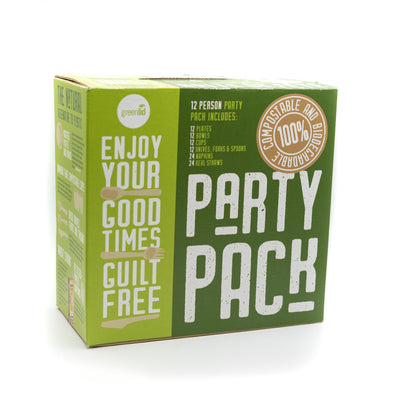 Greenlid's 12 Person Biodegradable Party Pack