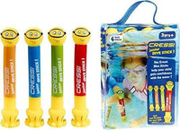Cressi Junior Dive Sticks Toys for Swimming Pool Kids Training quality since 1946