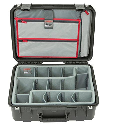 SKB Cases 3i-1813-7DL iSeries Professional Camera Case, Black/Gray