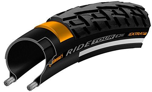 "Continental Ride Tour Replacement Bike Tire - Extra Puncture Protection, E-Bike Rated City/Trekking Bicycle Tire (12"", 16"", 20"", 24"", 26"", 27"", 28"", 700c)"