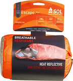 S.O.L. Survive Outdoors Longer S.O.L. 70% Reflective Escape Bivvy, Multiple Colors