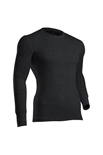 ColdPruf Men's Platinum II Performance Base Layer Long Sleeve Crew Neck Top