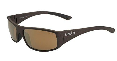 Bolle Weaver Sunglasses, Polarized Inland Gold Oleo AR, Matte Brown