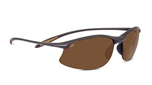 Serengeti Maestrale Polar PhD Drivers Sunglasses, Sanded Dark Brown