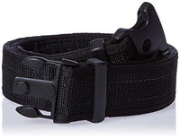 Uncle Mike's Law Enforcement Web Ultra Duty Belt with Hook and Loop Lining (4X-Large, Black)