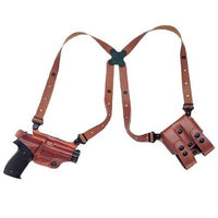Galco Miami Classic Shoulder System for 1911 5-Inch Colt, Kimber, Para, Springfield (Tan, Right-hand)
