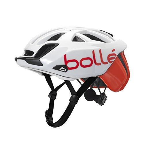 Bolle Cycling The One Base White Red 58-62cm 31588 Cycling Helmet Click-to-Fit