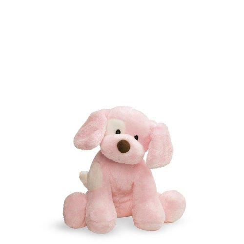 Baby GUND Spunky Dog Stuffed Animal Sound Plush, Pink, 8""