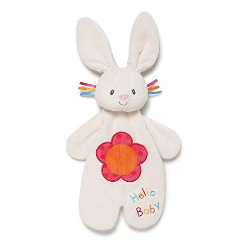 Baby GUND Flora The Bunny Activity Plush Blanket Lovey 11.5""