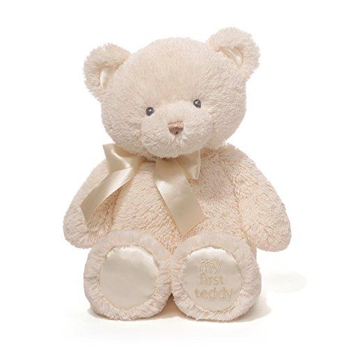 Baby GUND My First Teddy Bear Stuffed Animal Plush, Cream, 15""