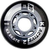K2 Skate Active / 80A 4-Wheel Pack, Unisex Active 72 Mm / 80A 4-Wheel Pack