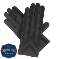 isotoner Signature Men's Gloves, Spandex Stretch with Warm Knit Lining