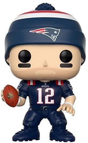 Funko POP NFL: Tom Brady (Patriots Color Rush) Collectible Figure