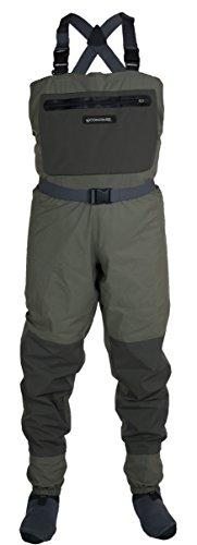 Compass 360 Deadfall Breathable STFT Chest Wader, Large