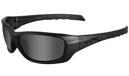 Wiley X Gravity Sunglasses, Smoke Grey/Matte Black