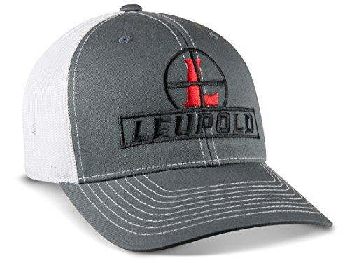 Leupold Reticle Trucker Hat Charcoal/White