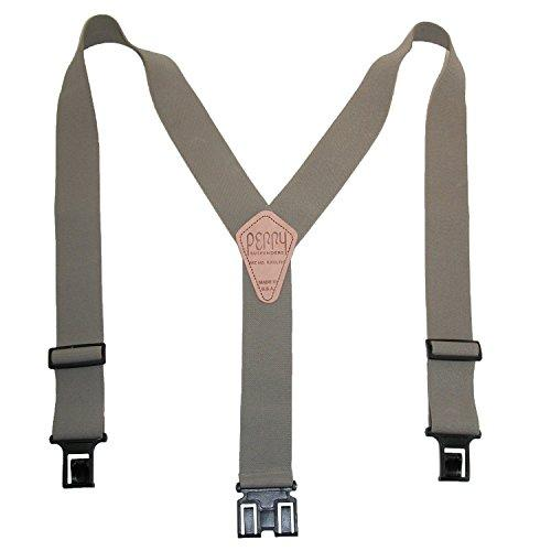 Perry Products SN200 Men's Clip-On 2-in Suspenders